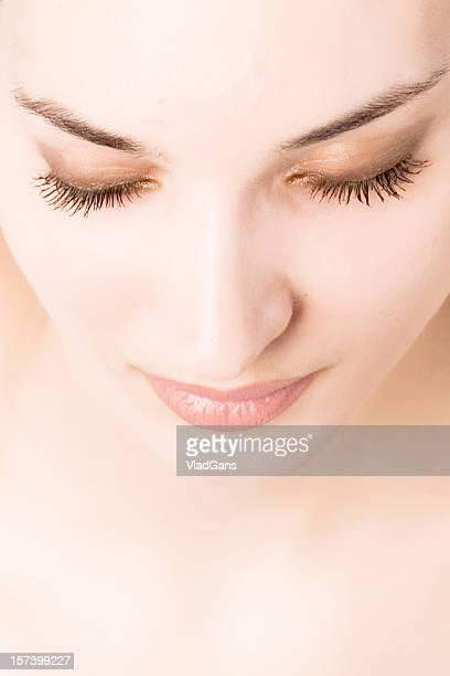 Close-up of beautiful face