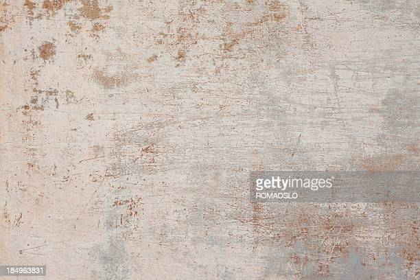 Close-up of beige grunge Roman wall texture