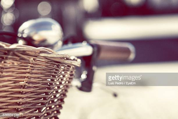 Close-Up Of Bicycle Basket