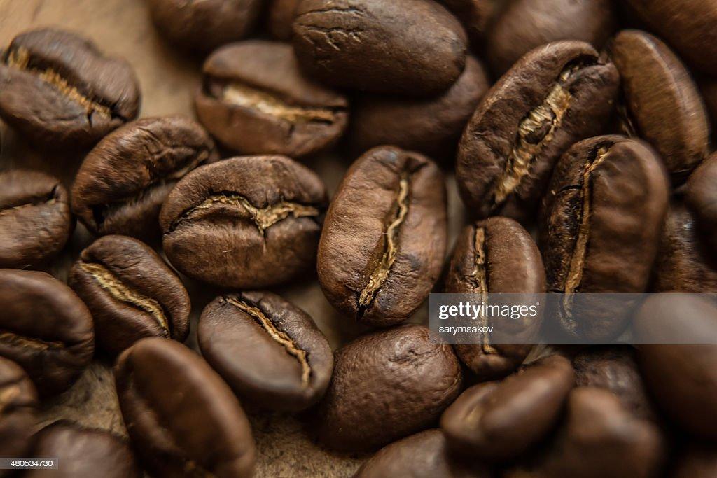 Nahaufnahme von Braun Kaffee Hintergrund : Stock-Foto