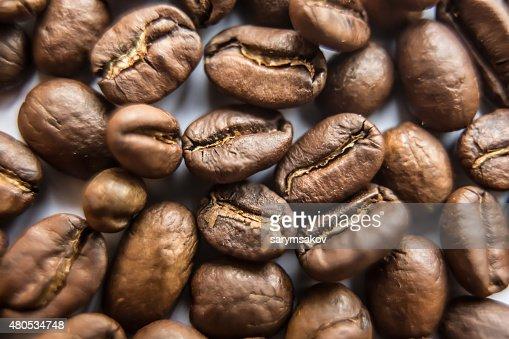 Primo piano di sfondo marrone caffè : Foto stock
