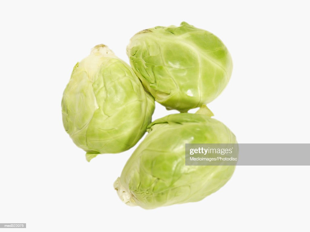 Close-up of Brussels sprouts : Stock Photo