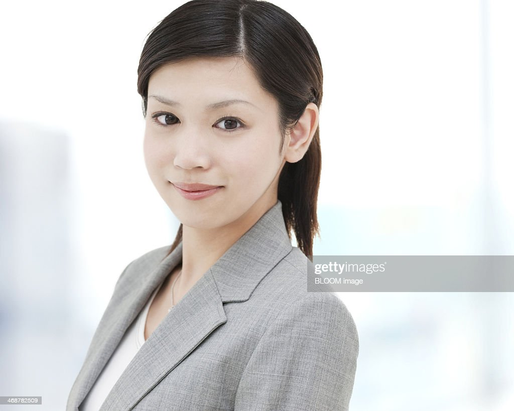 Close-up Of Businesswoman : Stock Photo