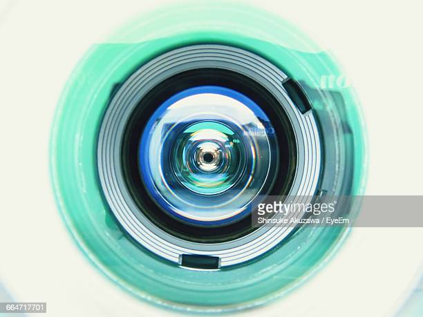 Close-Up Of Camera Lens