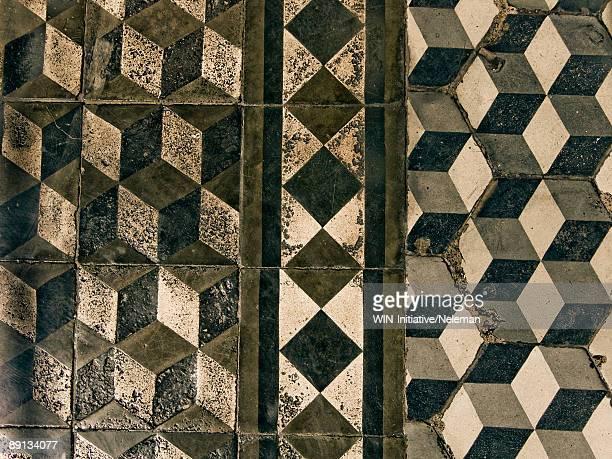 Close-up of ceramic floor