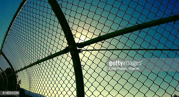 Close-up Of Chainlink Fence