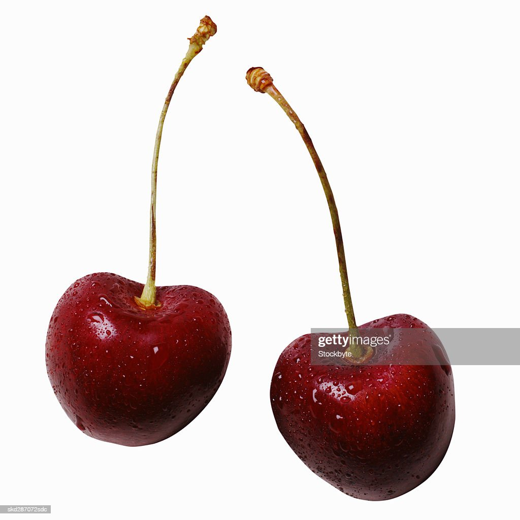 Close-up of cherries : Stock Photo