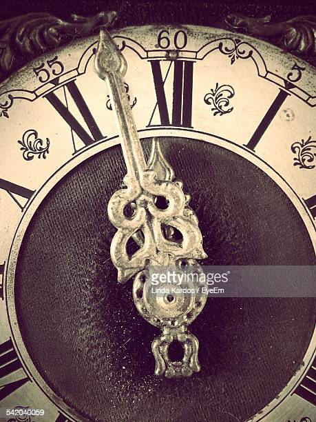 Close-Up Of Clock