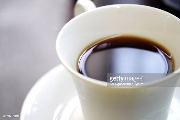 Close-Up Of Coffee In Cup