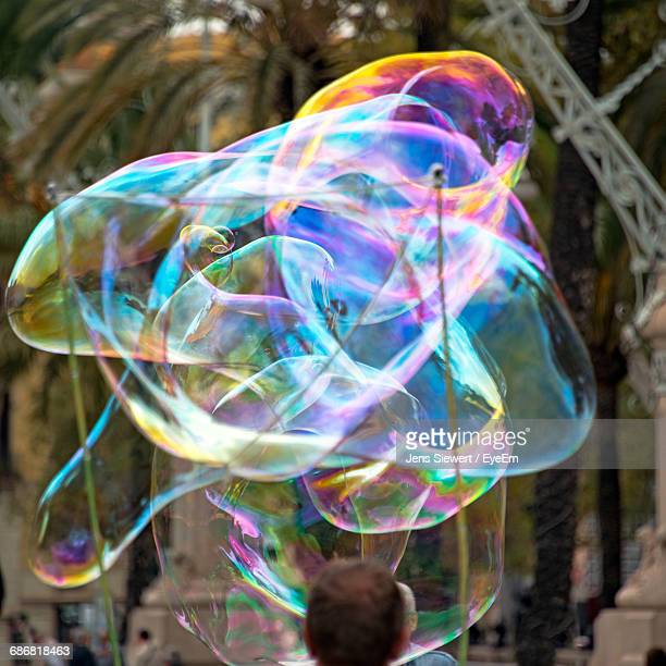 Close-Up Of Colorful Bubbles