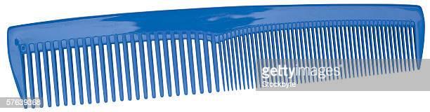 close-up of comb