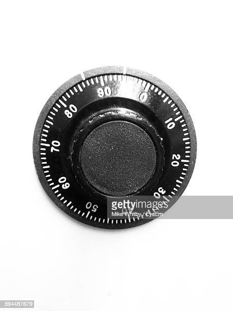 Close-Up Of Combination Lock