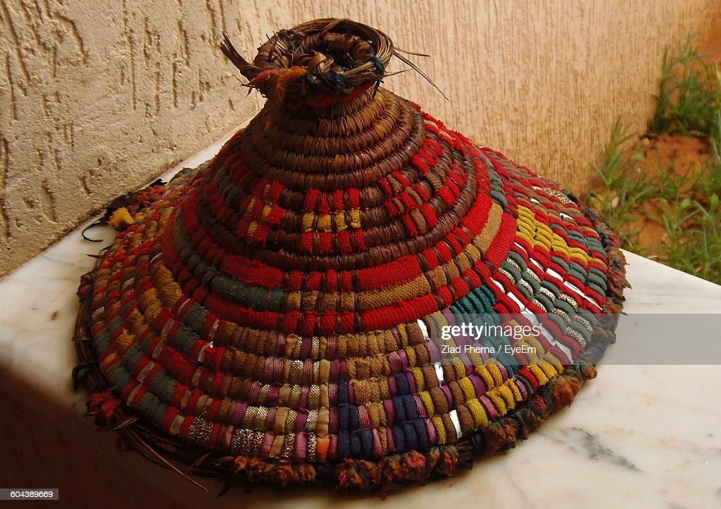 Close-Up Of Conical Hat