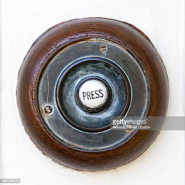 Close-Up Of Doorbell