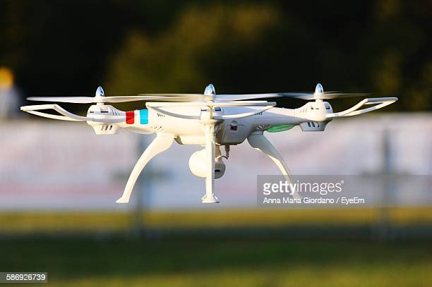 Close-Up Of Drone Flying