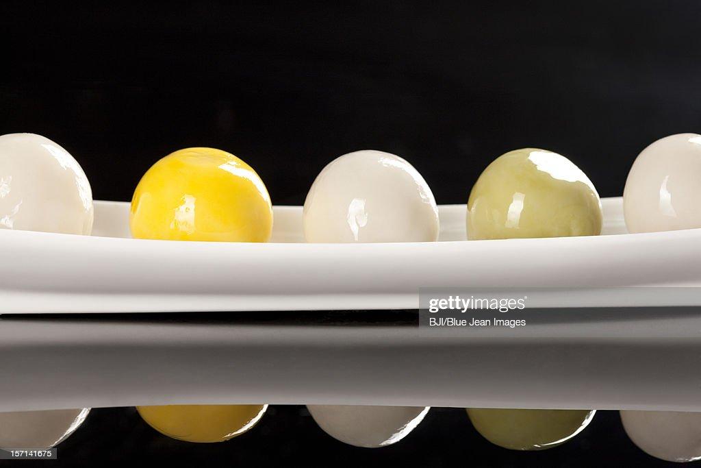 Close-up of dumpling : Stock Photo
