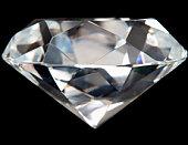 Close-Up Of Flawless Diamond