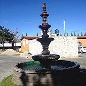 Close-Up Of Fountain In City