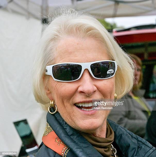 Closeup of Franki Roberts Senator Pat Roberts' wife as she visits the Turner Community Day festival at Steineger Field Kansas City Kansas October 12...