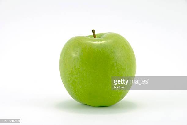 Close-up of fresh Granny Smith apple