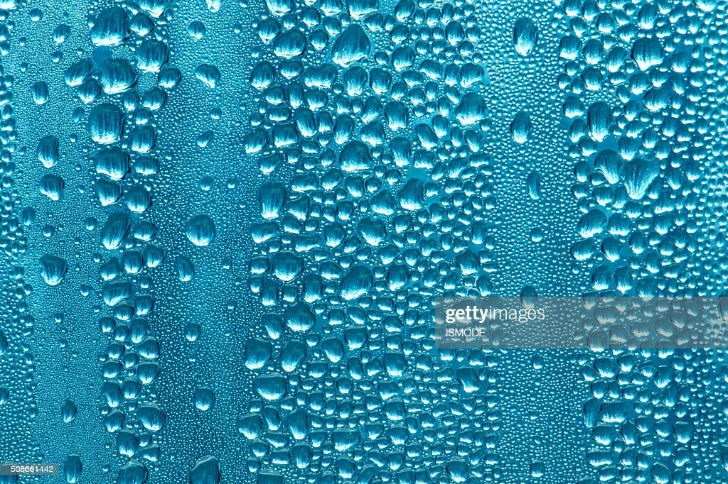 Closeup of frosted glass texture : Stock Photo