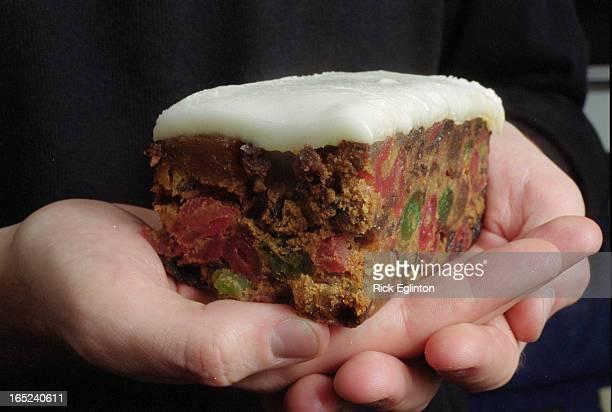 1 closeup of fruitcake