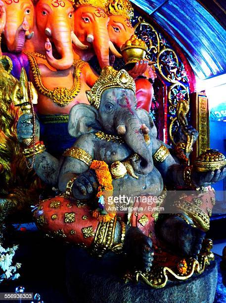 Close-Up Of Ganesha Idol
