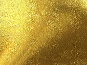 Gold foil wonderful metallic background