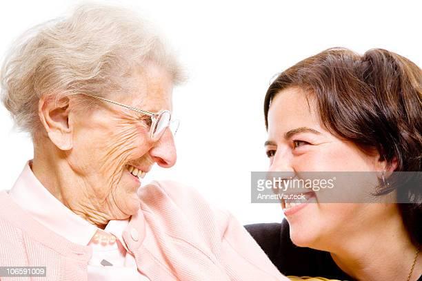 Abuela y granddaughter serie