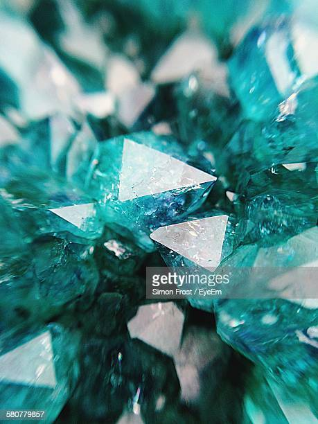 Close-Up Of Green Amethyst