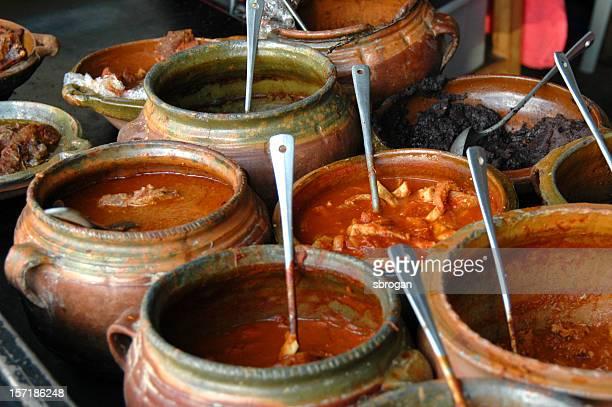 Closeup of Guatemalan Cuisine