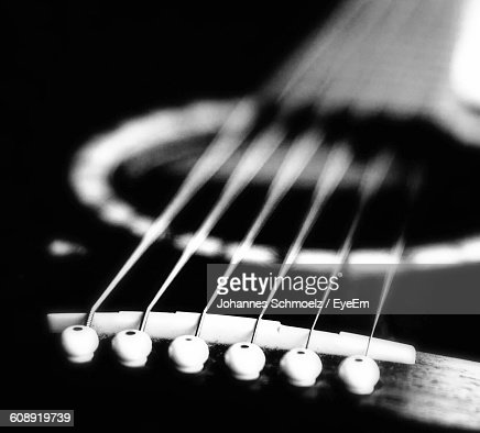 Close-Up Of Guitar