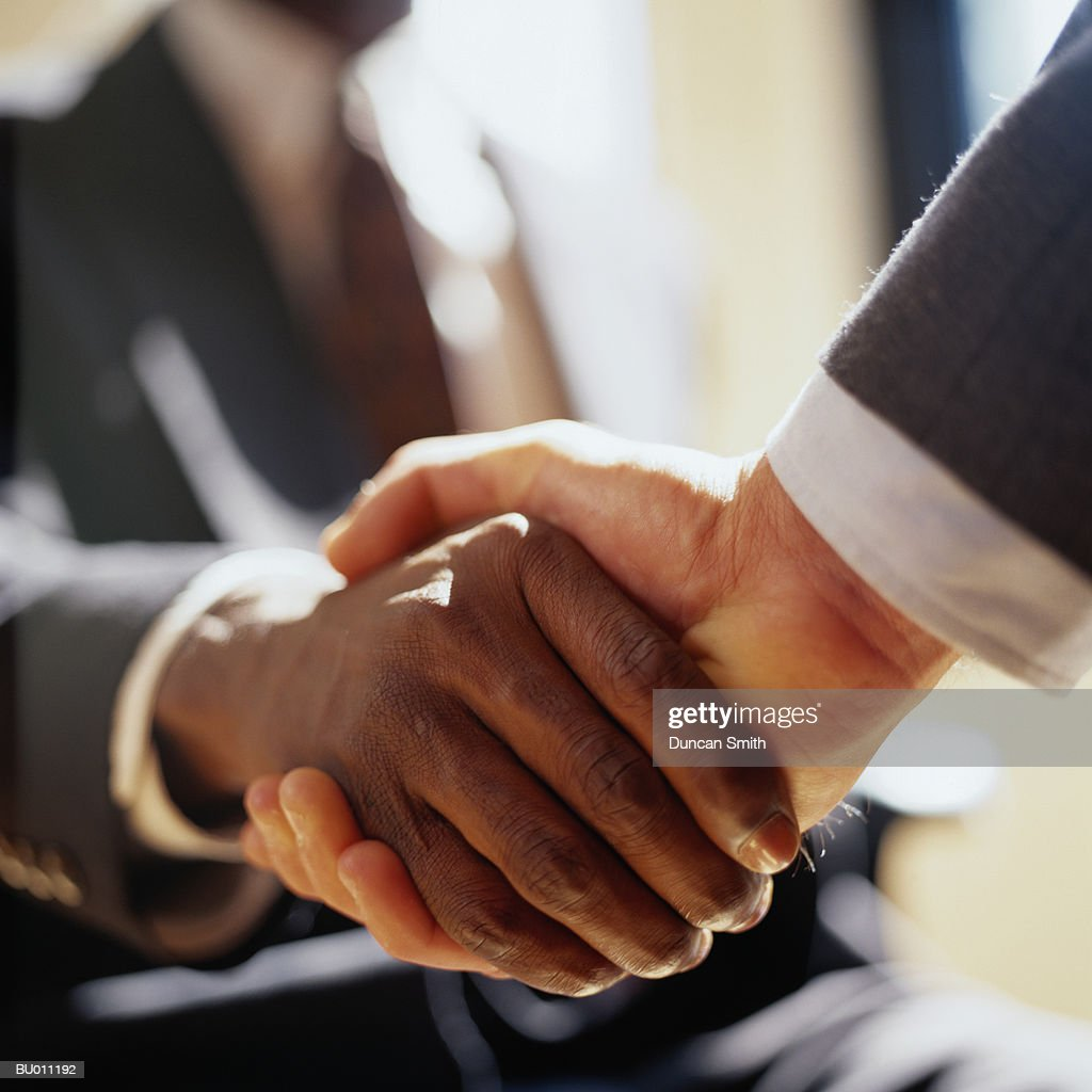 Close-Up of Handshake : Stock Photo