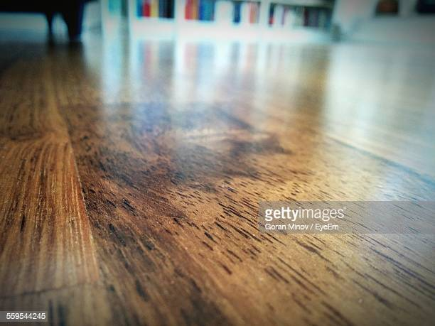 Close-Up Of Hardwood Floor In House