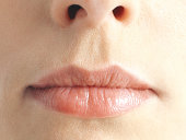 Close-up of human mouth
