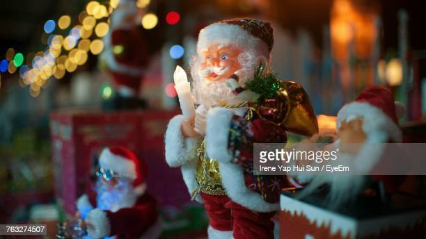 Close-Up Of Human Santa Claus Figurine