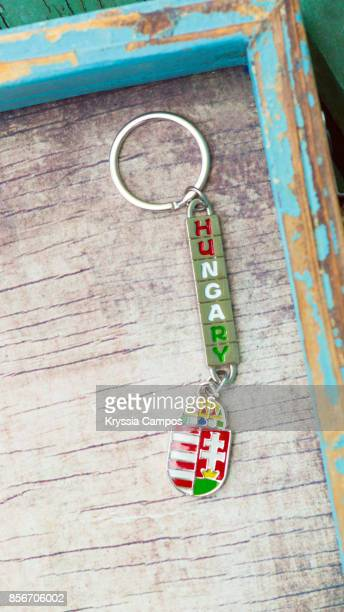 Close-up of Hungary Keychain