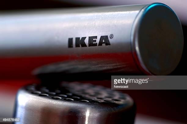 Closeup of Ikea kitchen utensils