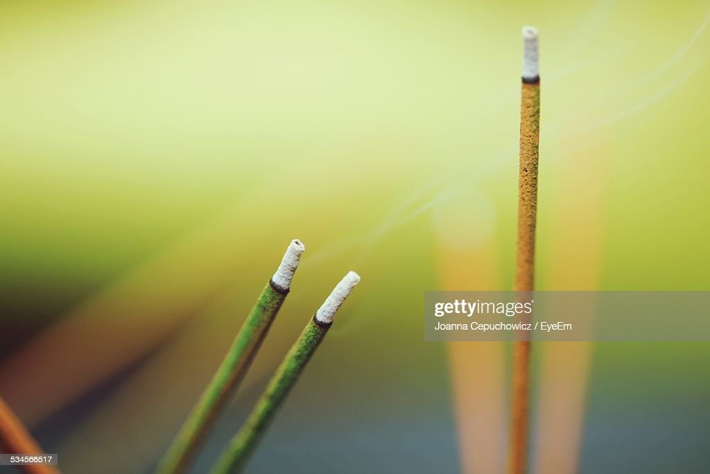 Close-Up Of Incenses