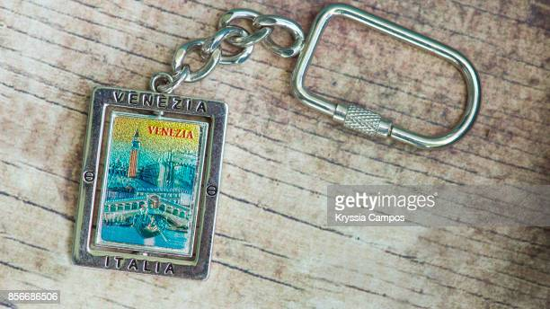 Close-up of Keychain Souvenir from Venice, Italy