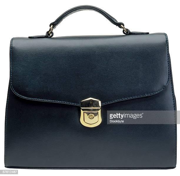 close-up of ladies handbag
