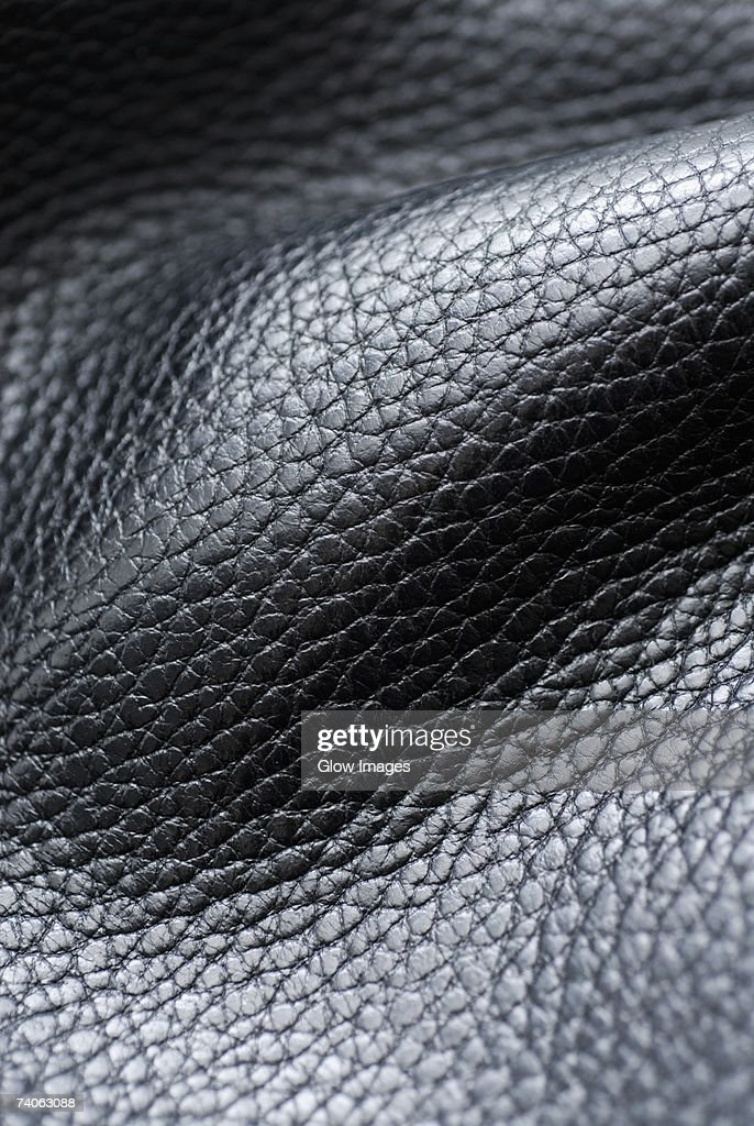 Close-up of leather