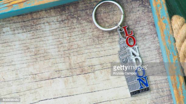 Close-up of London Keychain