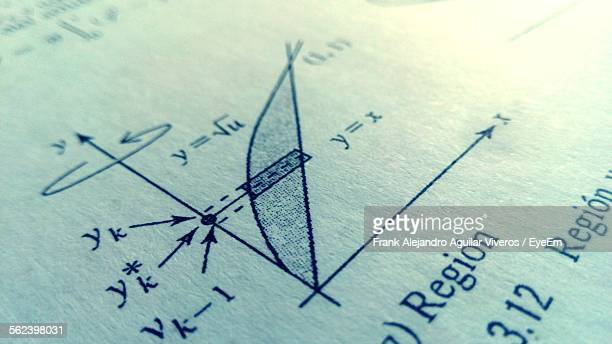 Close-Up Of Mathematics Solution