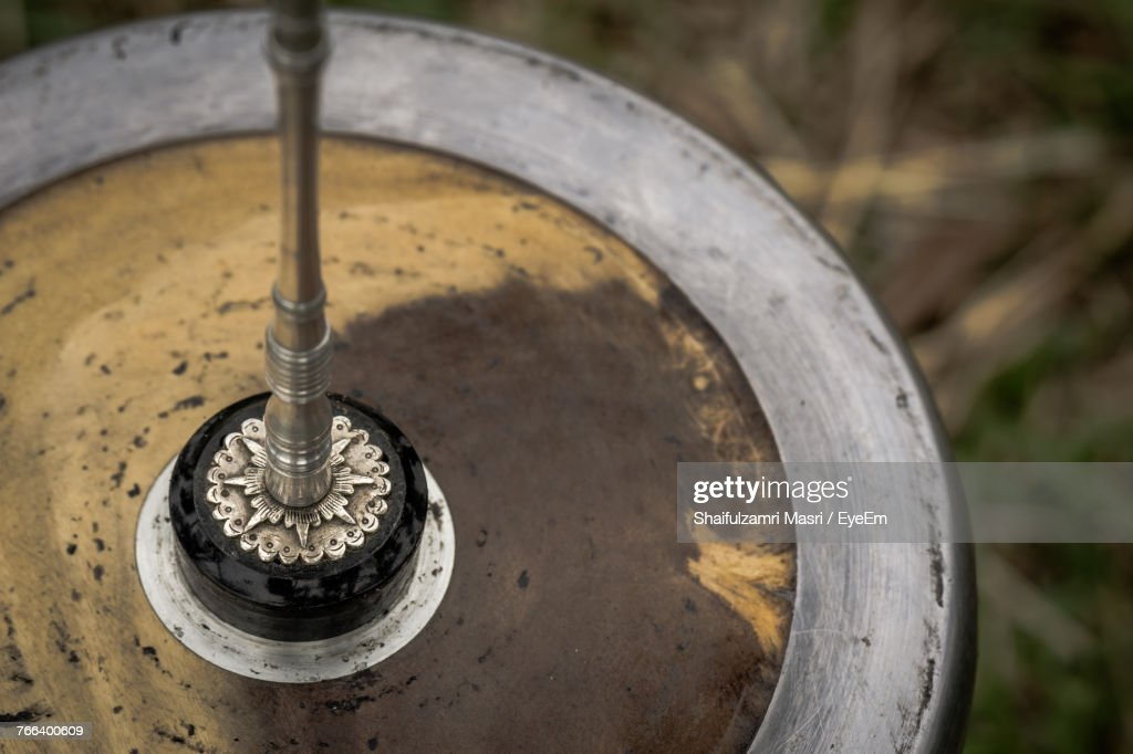 Close-Up Of Metal : Stock Photo