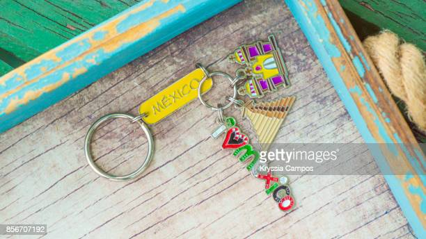 Close-up of Mexico Keychain
