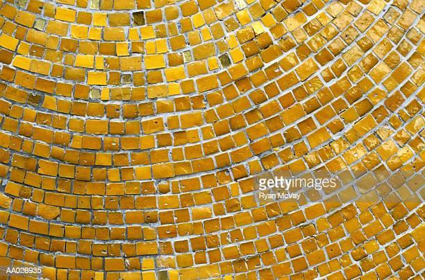 Close-up of Mosaic Tiles