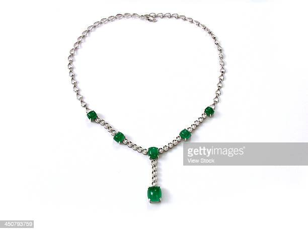 Close-up of necklace