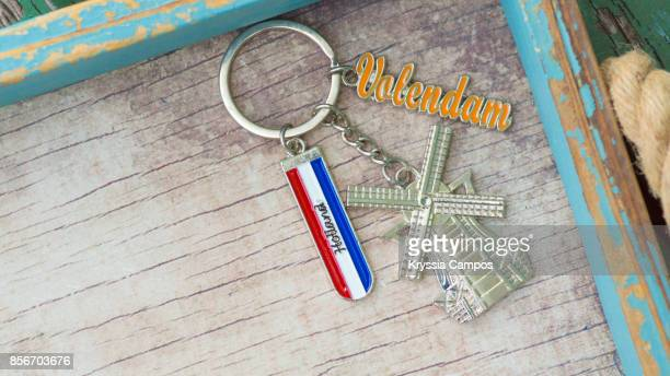 Close-up of Netherlands Keychain
