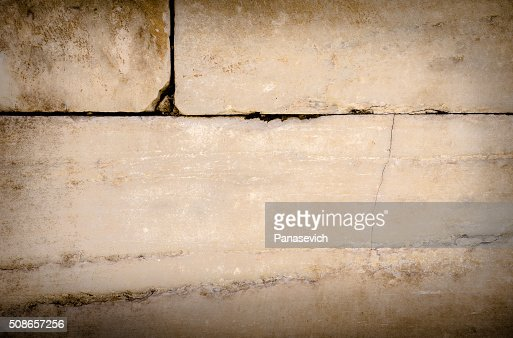 Close-up of Old Marble Wall : Stock Photo